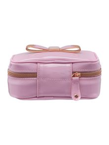 Pink bowcon jewellery case