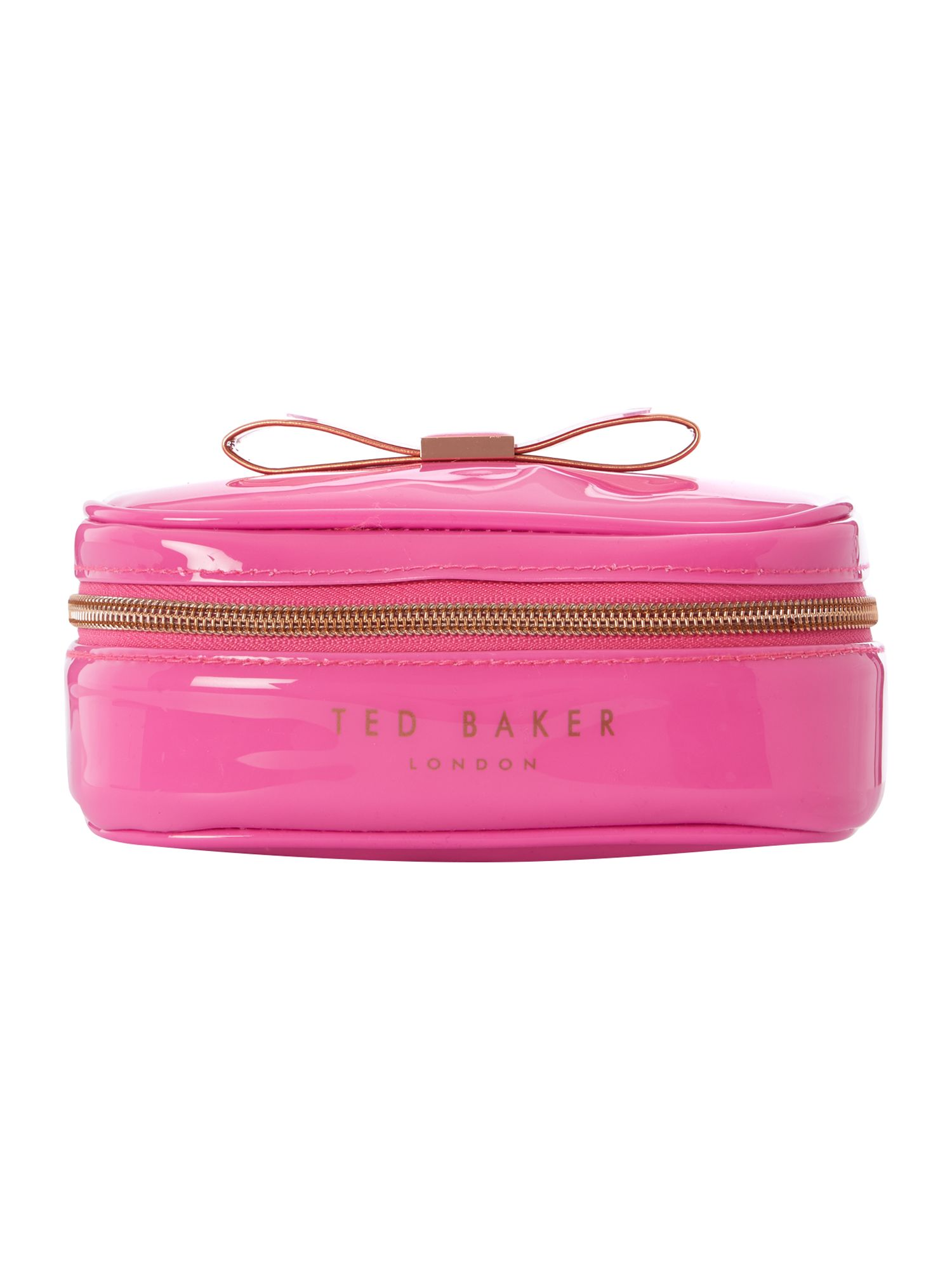 Pink exclusive bowcon jewellery case