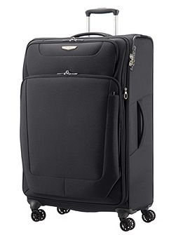 Spark black 4 wheel 79cm large case