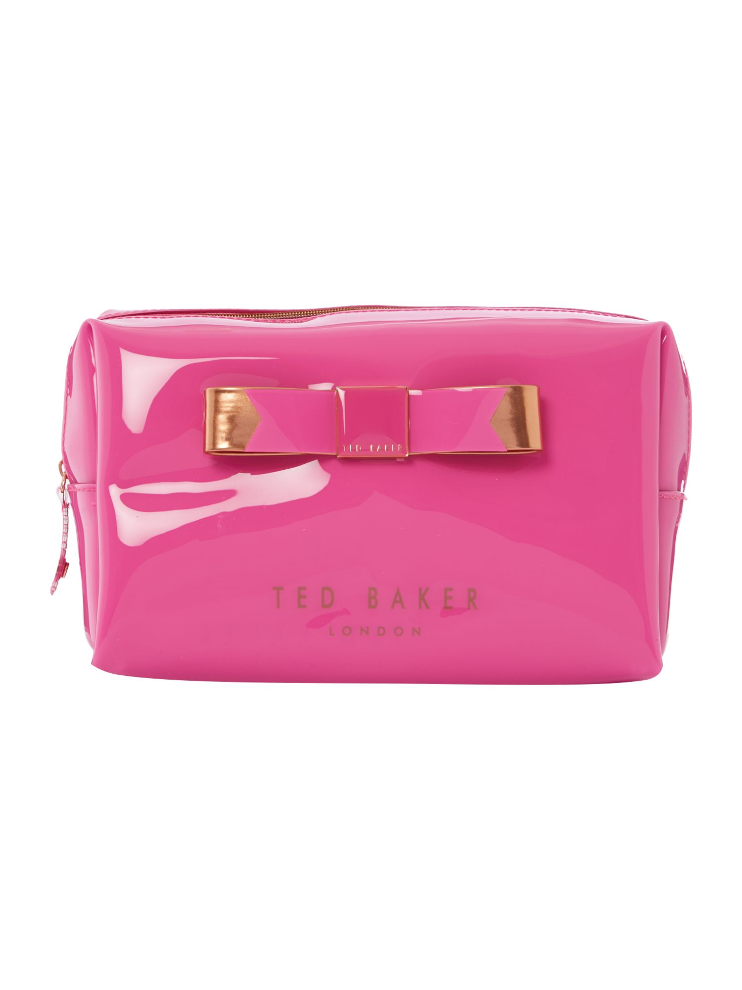 Pink exclusive bowcon wash bag
