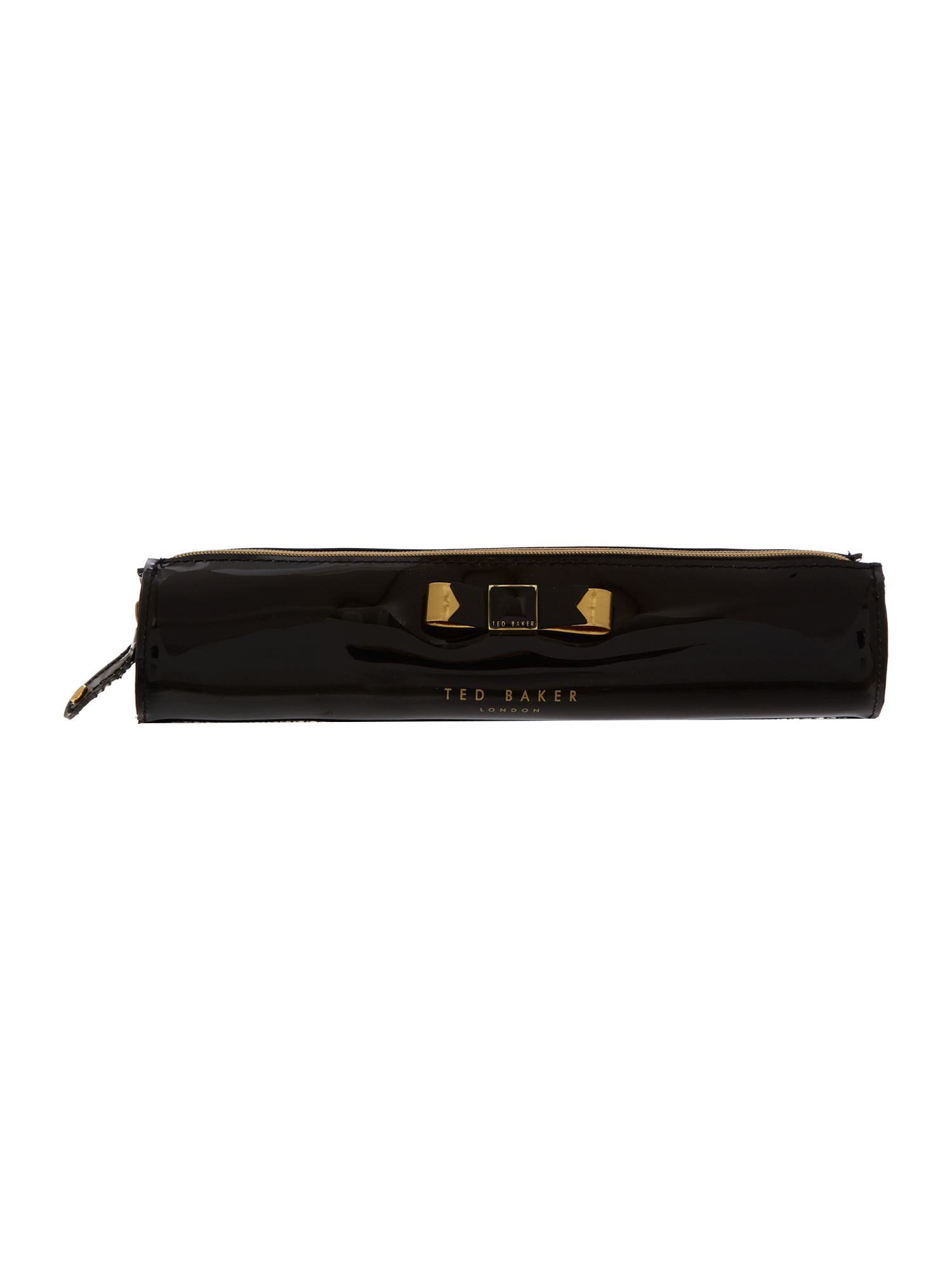 Black bowcon pencil case