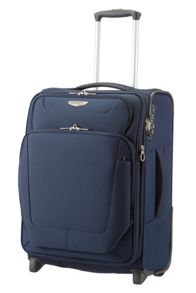 Samsonite Spark blue 2 wheel cabin suitcase