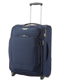 Spark blue 2 wheel cabin suitcase