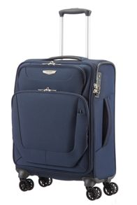 Spark blue 4 wheel luggage range