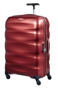 Engenero dark red 4 wheel cabin spinner