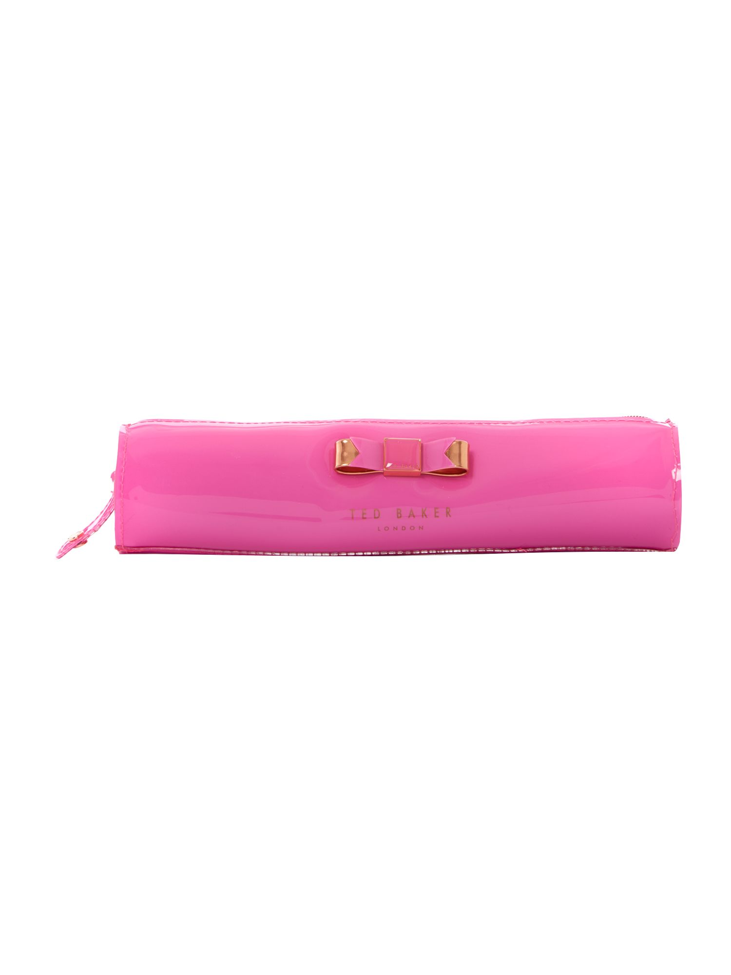 Pink exclusive bowcon pencil case