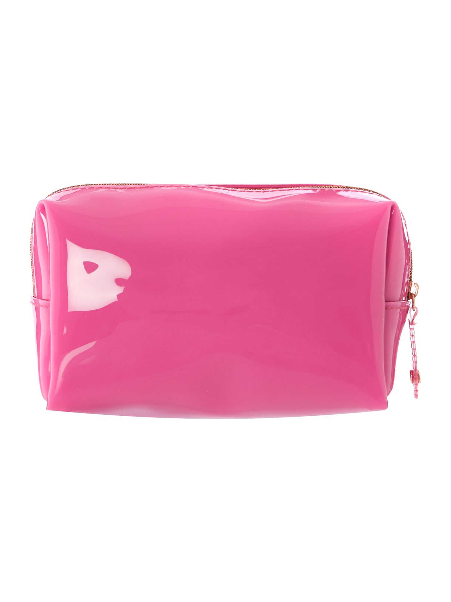 Pink small exclusive bowcon wash bag