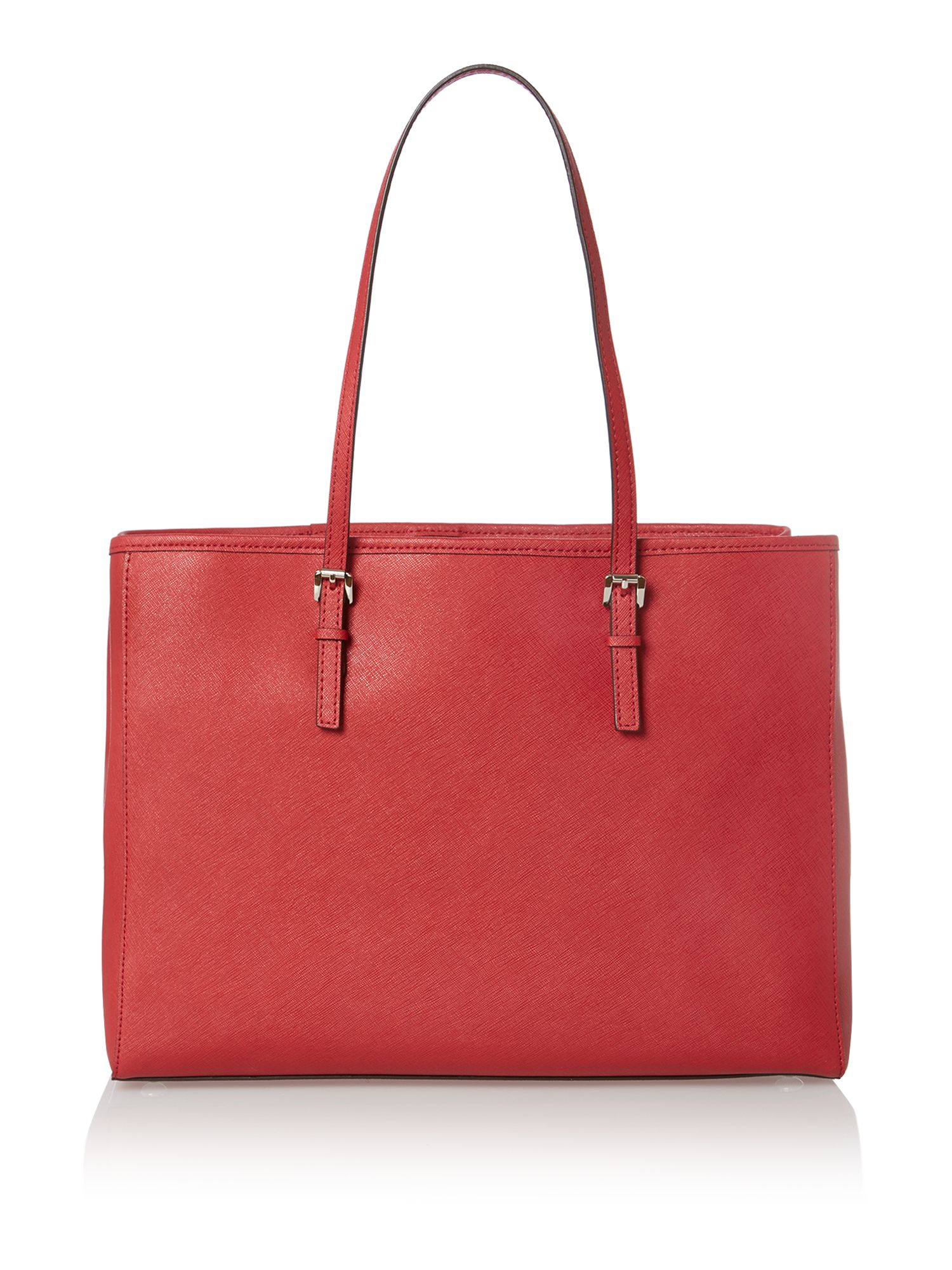 Jet Set Travel red medium tote bag