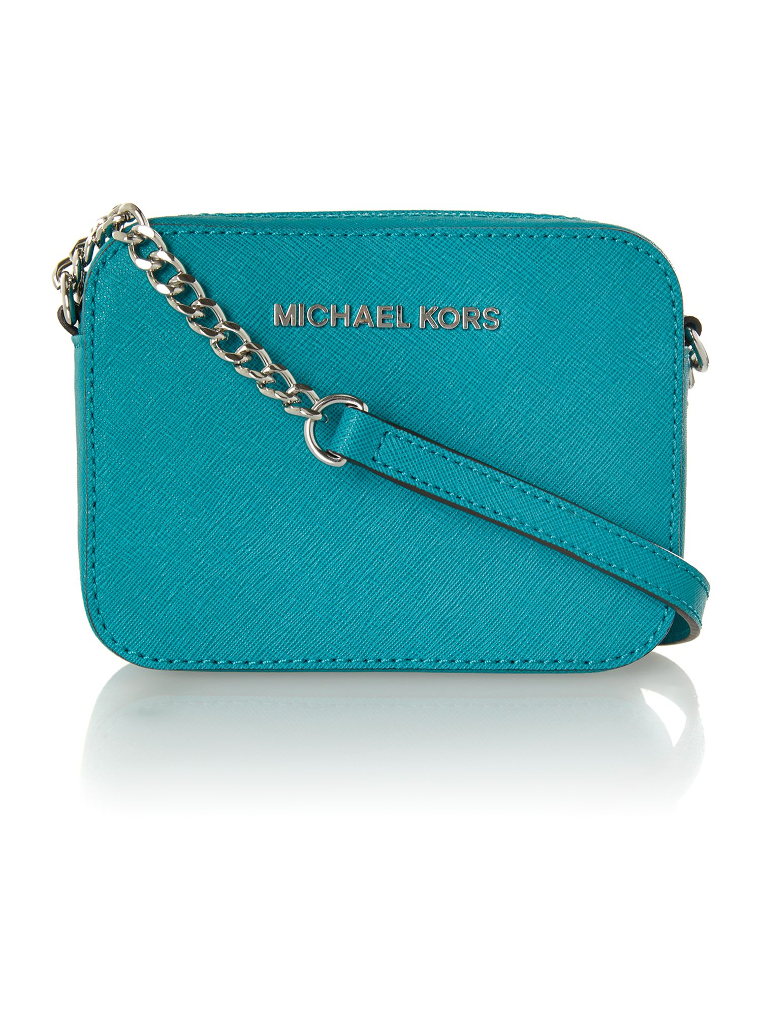 Jet set travel blue small chain cross body