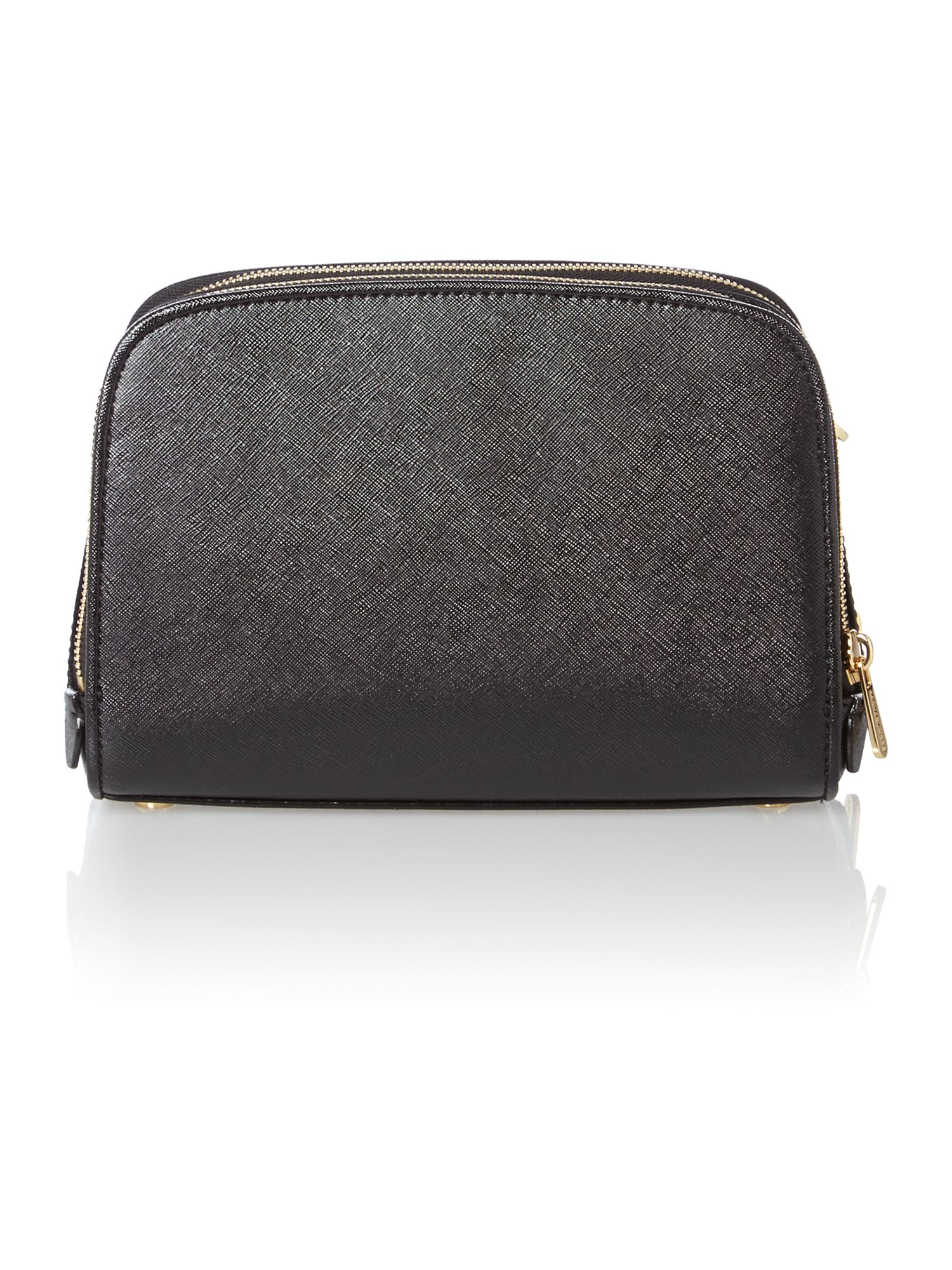 Reese black patent cross body bag