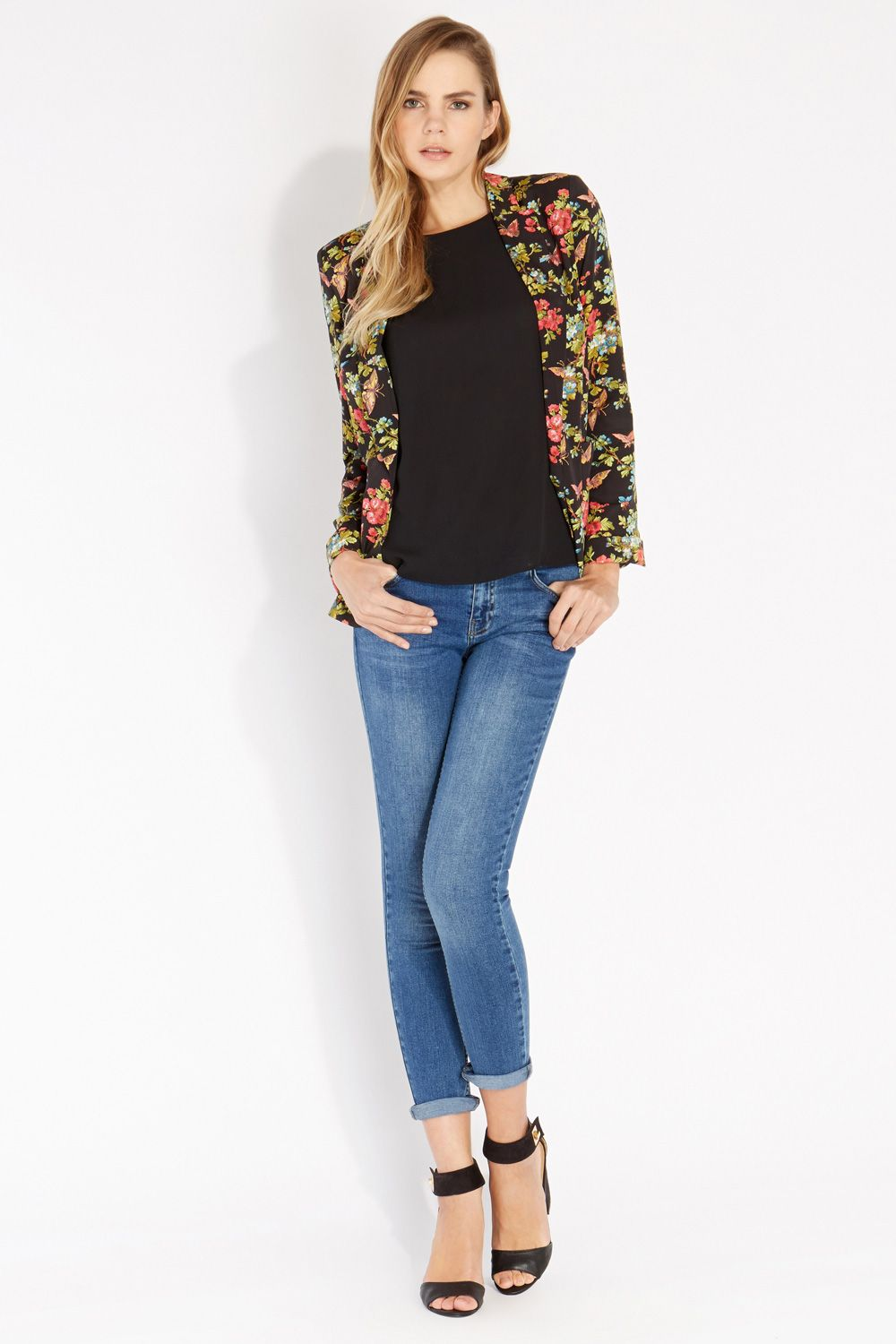 Butterfly blossom soft jacket
