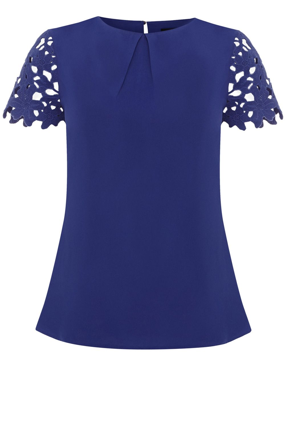 Cutwork flower t-shirt