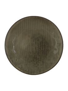 Nordic stoneware Side plate in grey tones