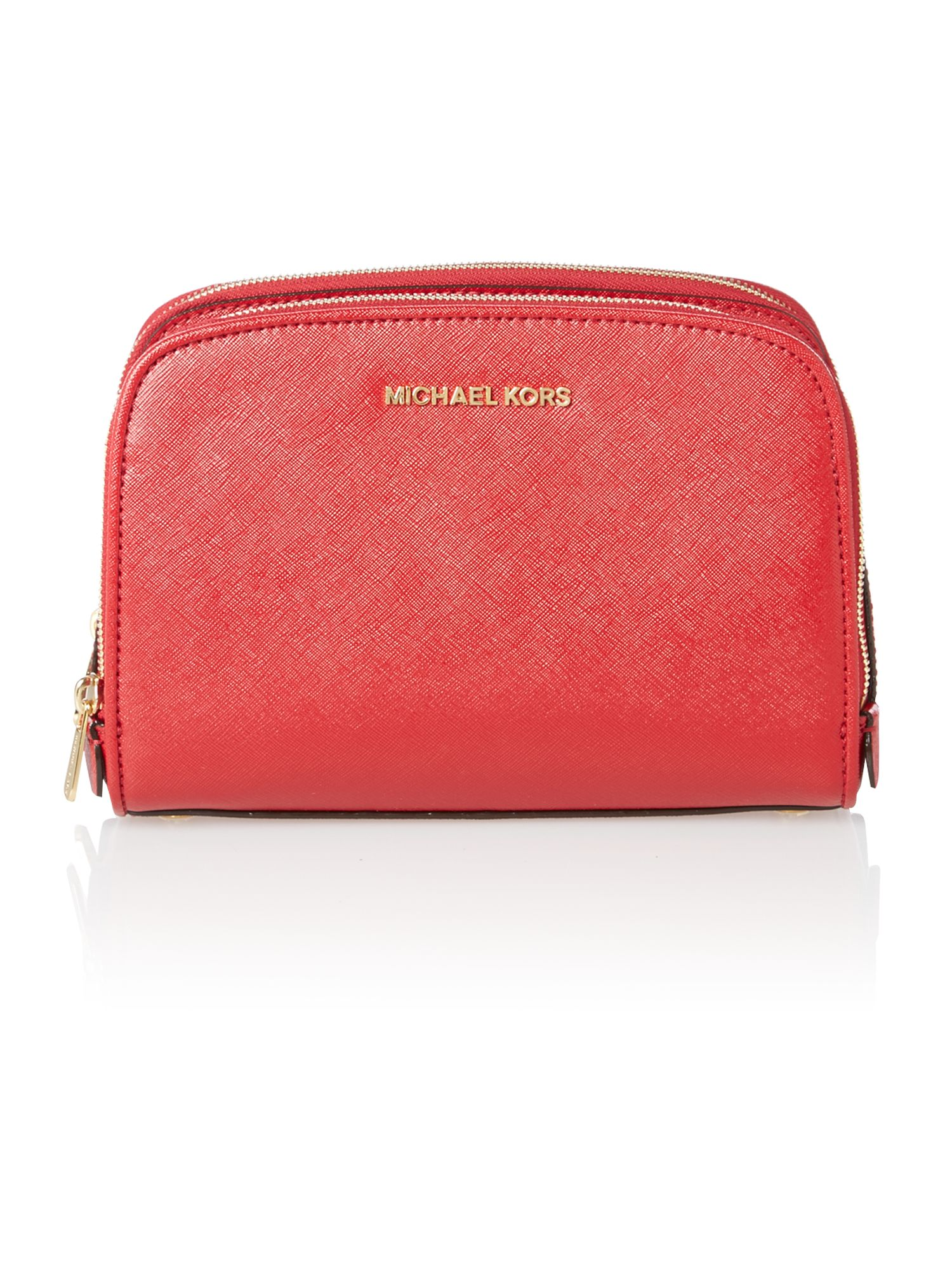 Reese red patent cross body bag