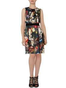 Pied a Terre Floral Panel Dress