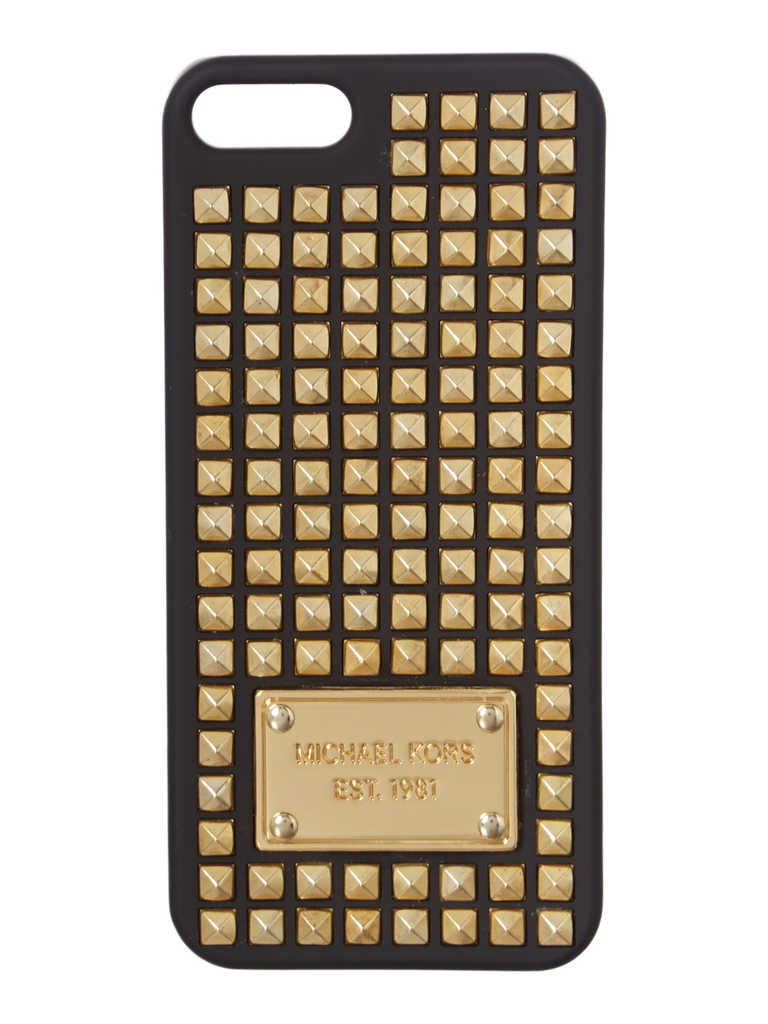 Electronics black stud phone cover