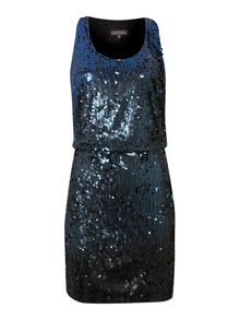 Pied a Terre Ombre Sequin Dress