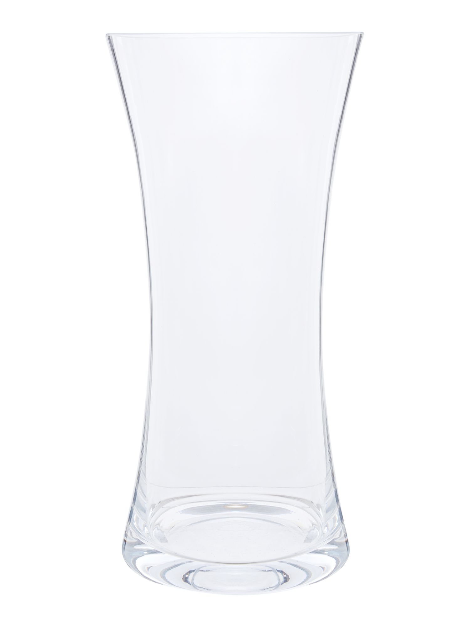 Flared vase, Clear 35cm