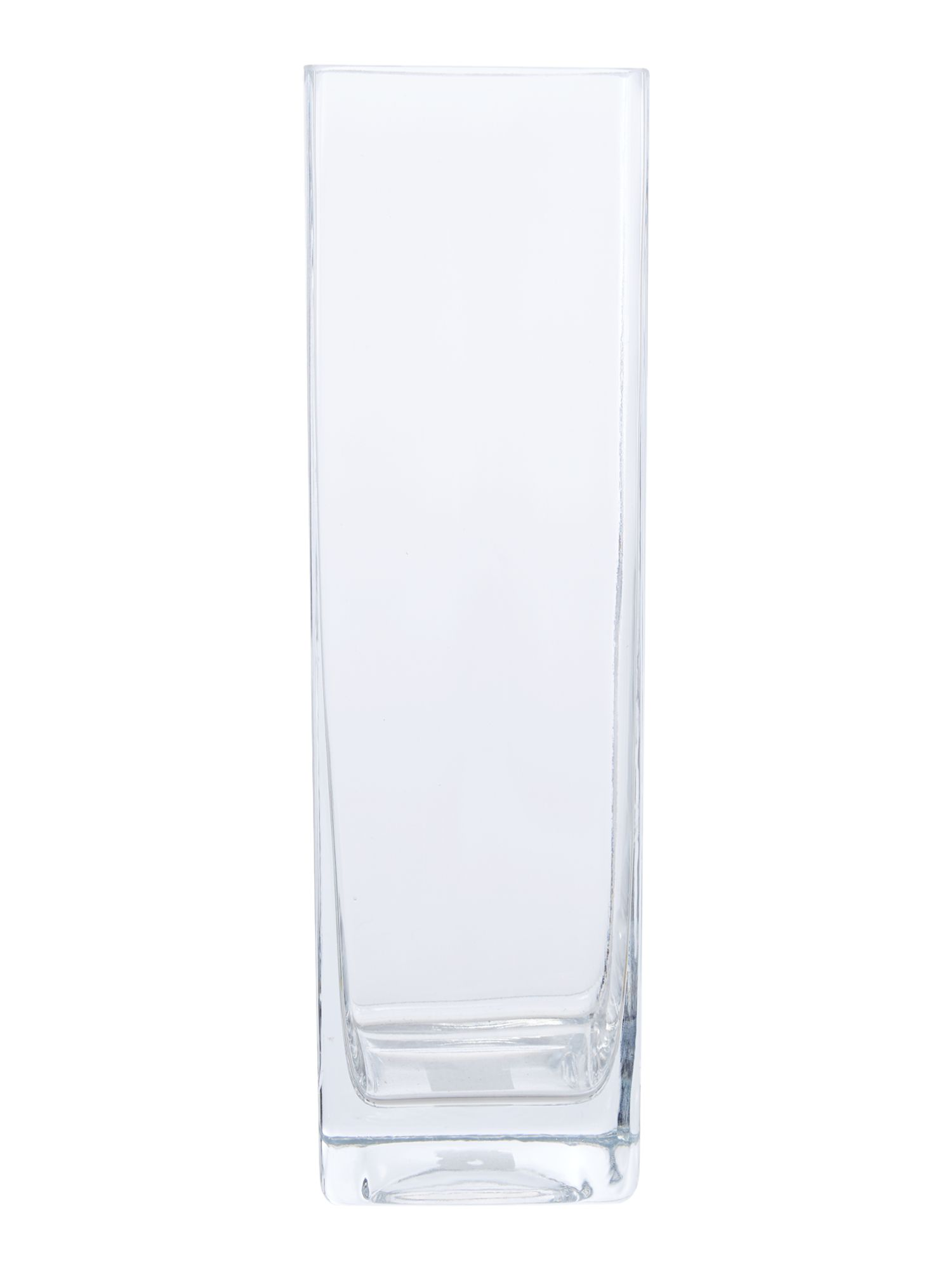 Rectangular, clear 35cm