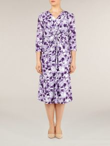 Lupin meadow floral print dress