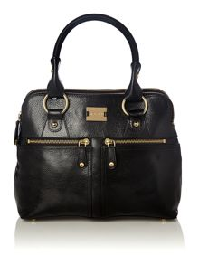 Pippa black mini tote bag