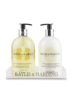 Sweet Mandarin & Grapefruit Hand Wash & Lotion
