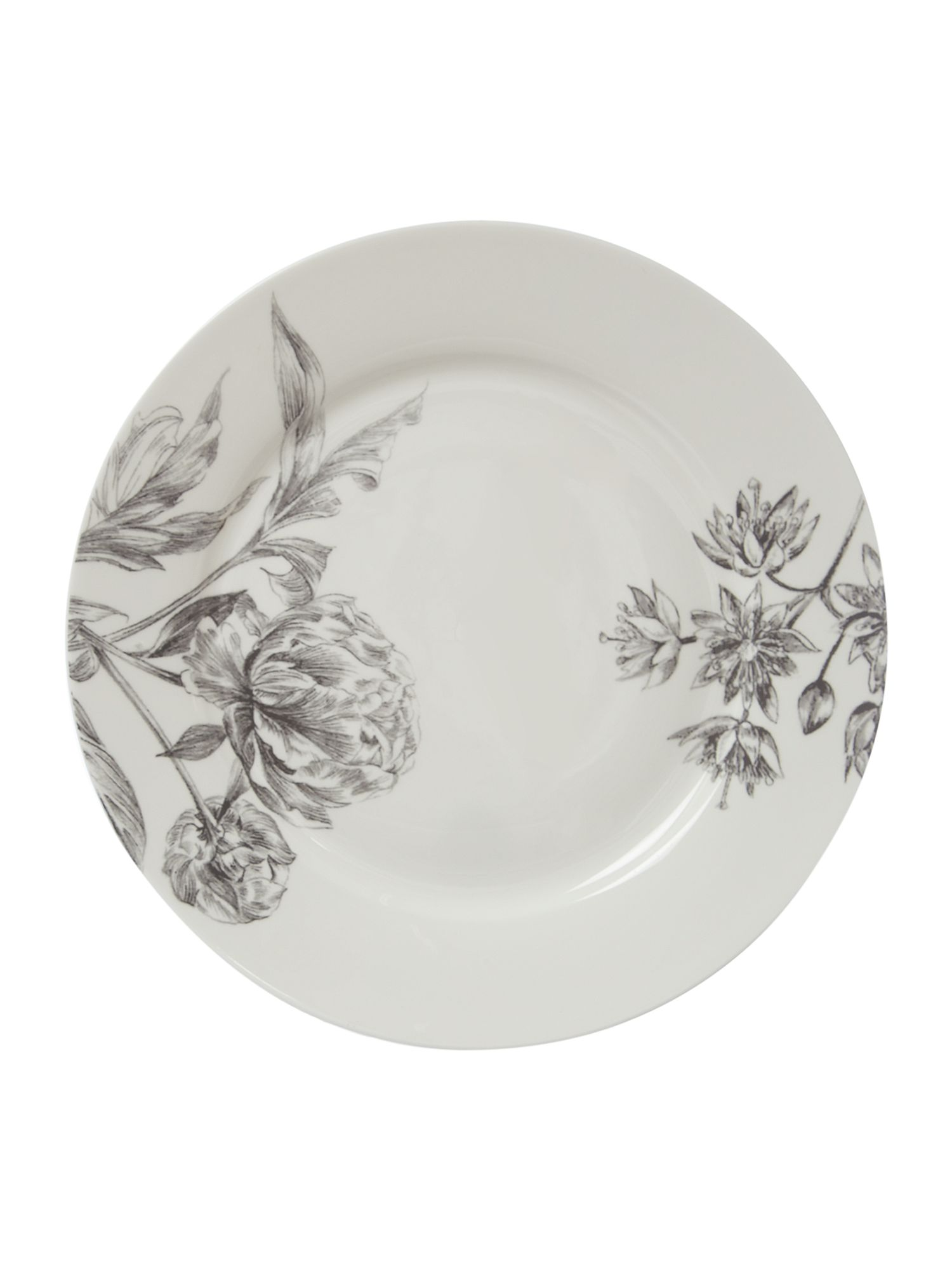 Winterbloom side plate