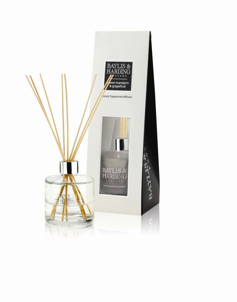 Sweet Mandarin & Grapefruit Diffuser Set