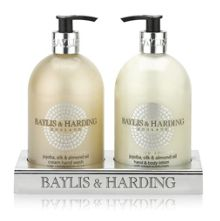 Baylis & Harding Jojoba, Silk & Almond Oil Hand Wash & Lotion Set