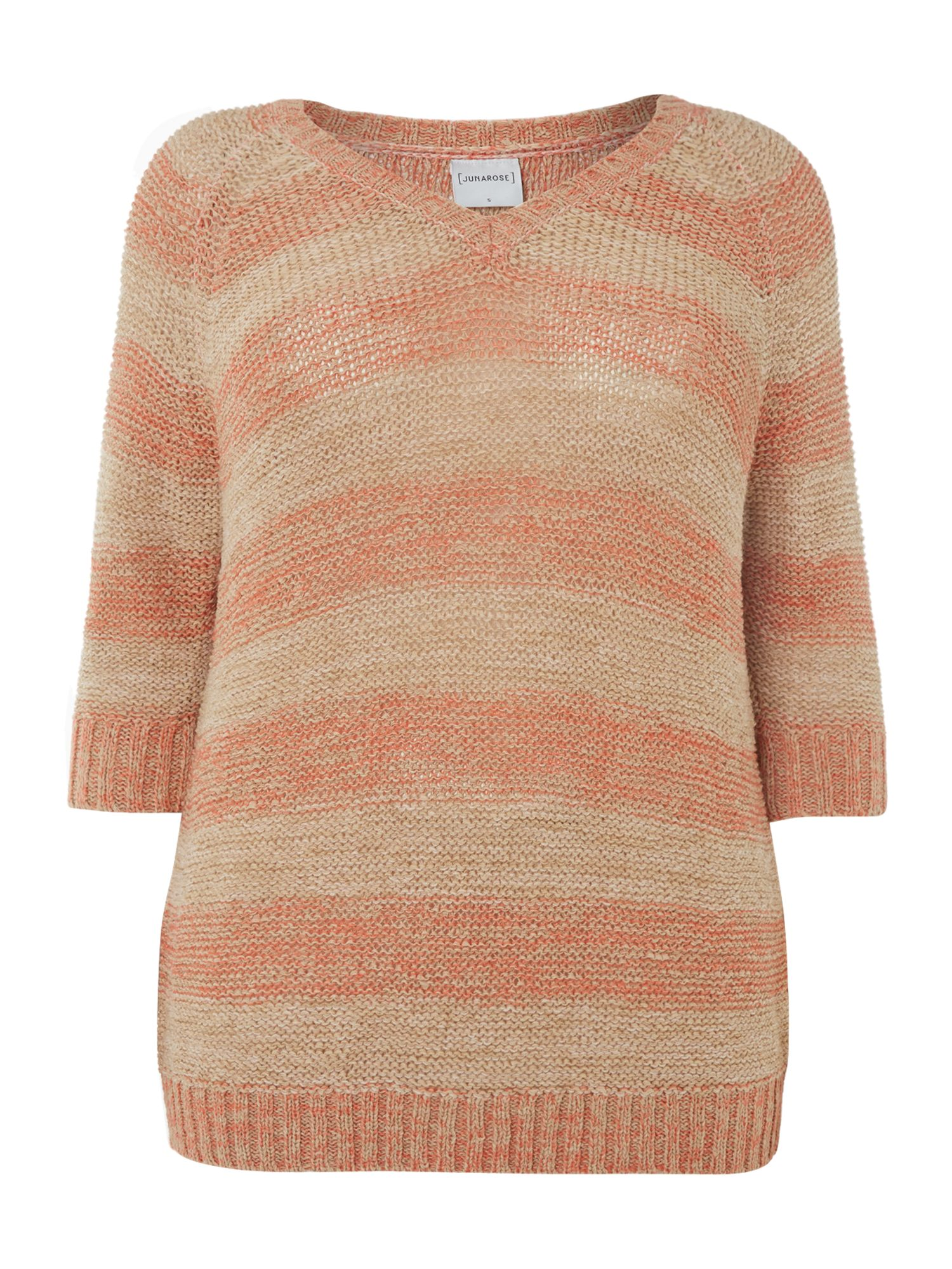Knit 3/4 sleeve jumper