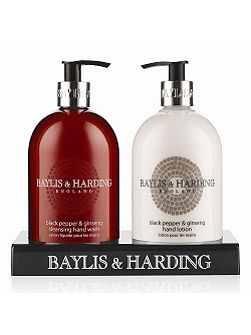 Black Pepper & Ginseng Hand Wash & Lotion