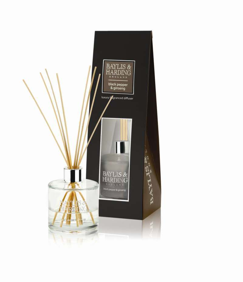 Black Pepper & Ginseng Diffuser Set