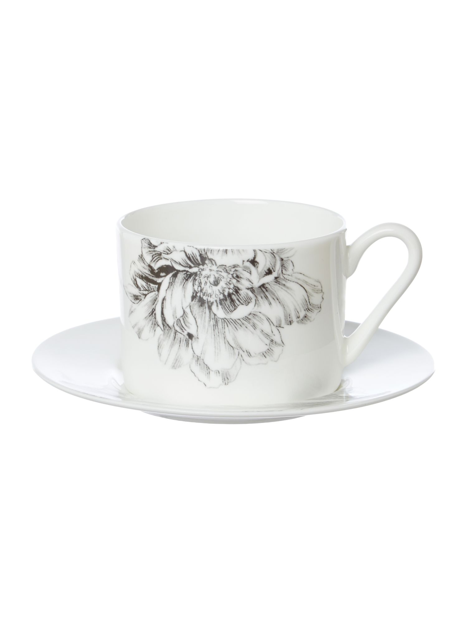 Winterbloom cup and saucer