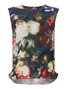 Floral Printed Woven Top