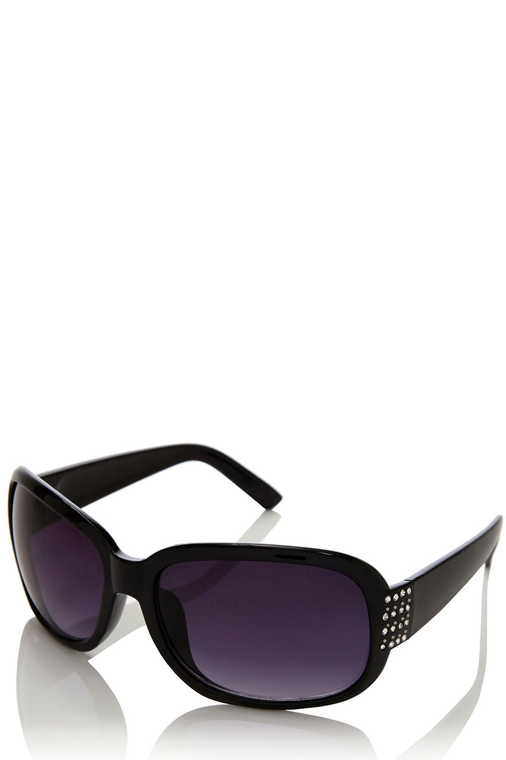Diamante plastic sunglasses