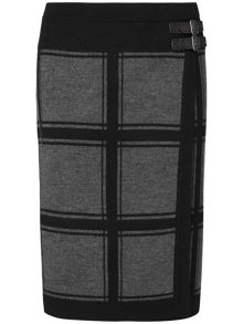 Cassidy check skirt