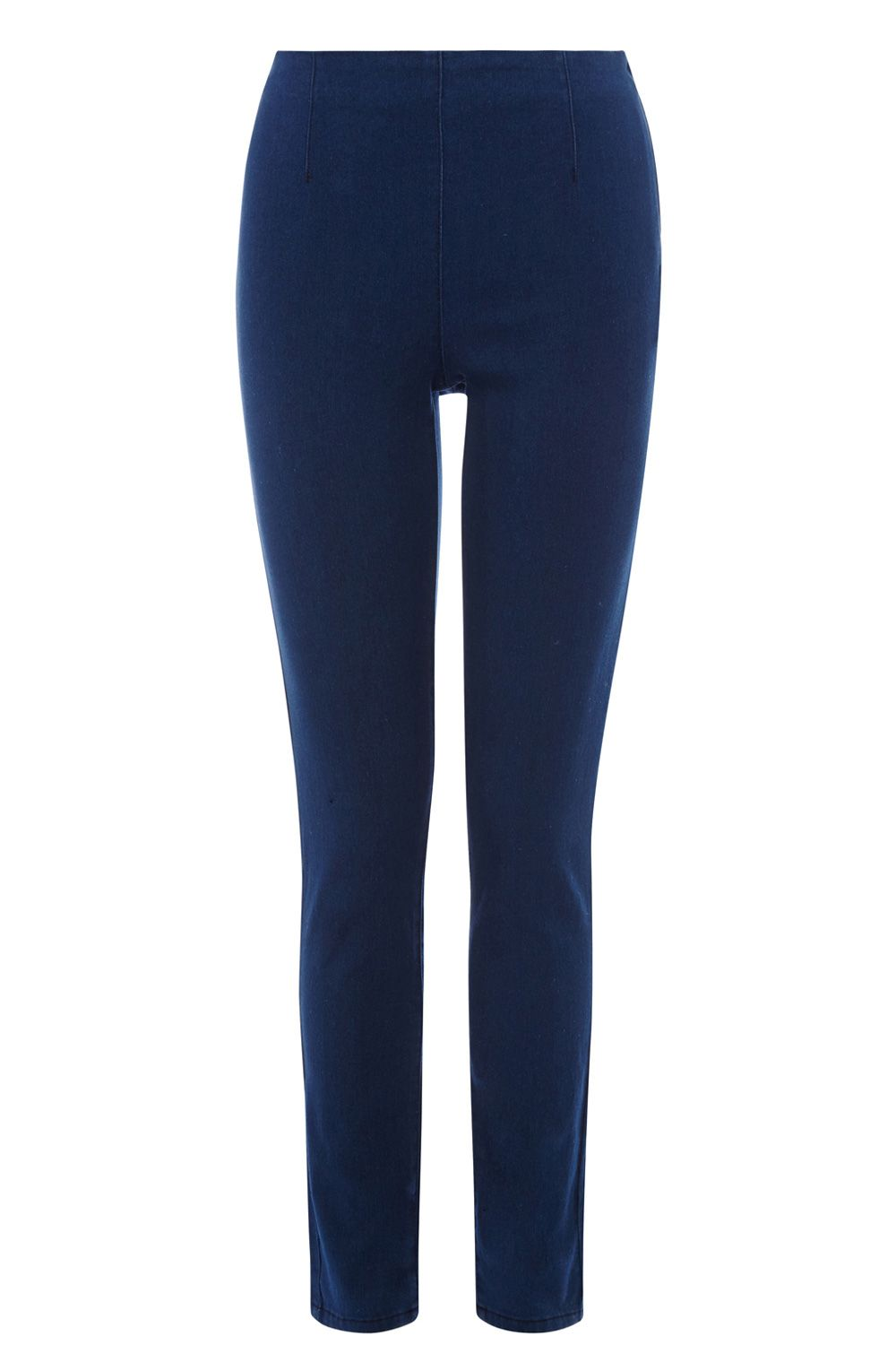 Cara authentic wash side zip jeggings