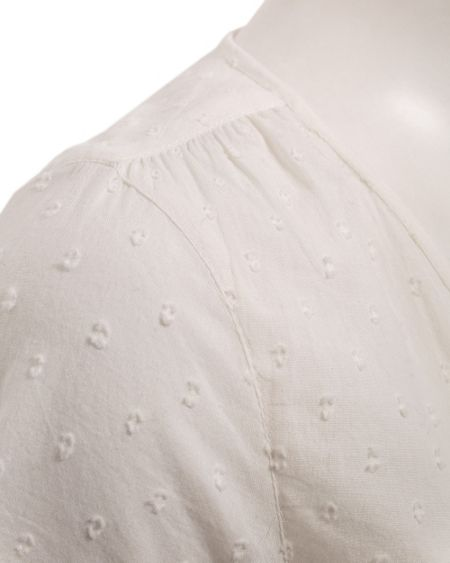 East Cotton dobby blouse