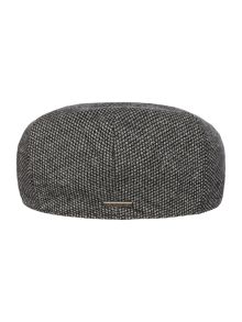 Woven highlight flat cap