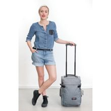Tranverz sunday grey wheeled extra small duffle