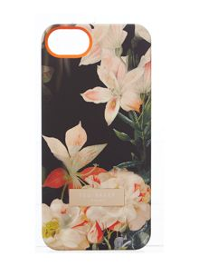 Black floral iphone 5 case