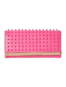Pink large stud flapover