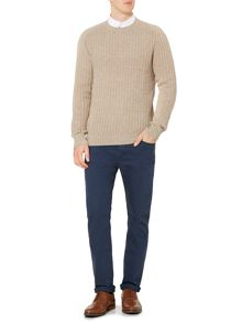 Linea Tucker Crew Neck Knit