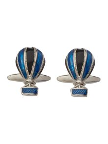 Hot air balloon cufflinks