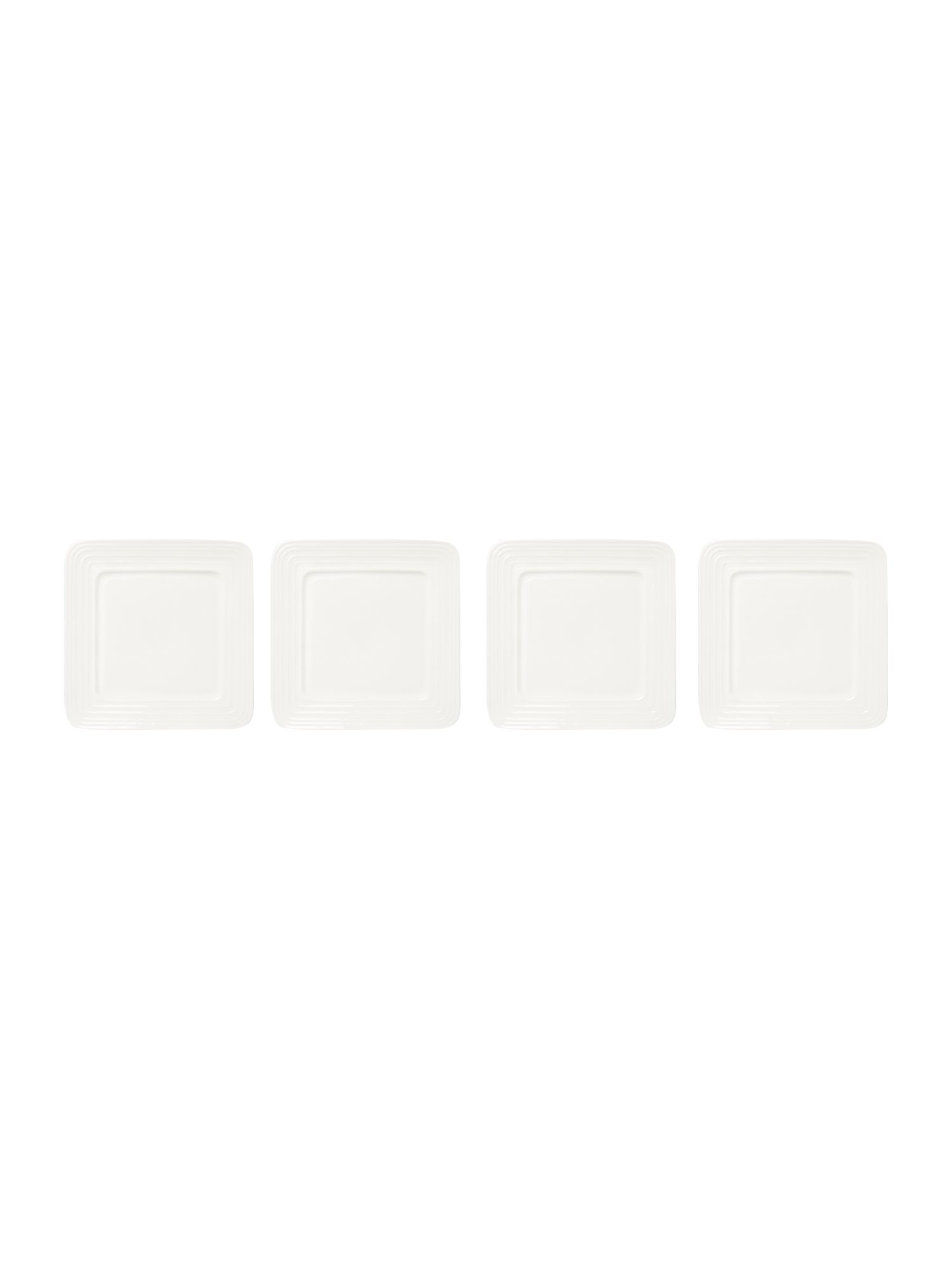 Soho square side plate set of 4