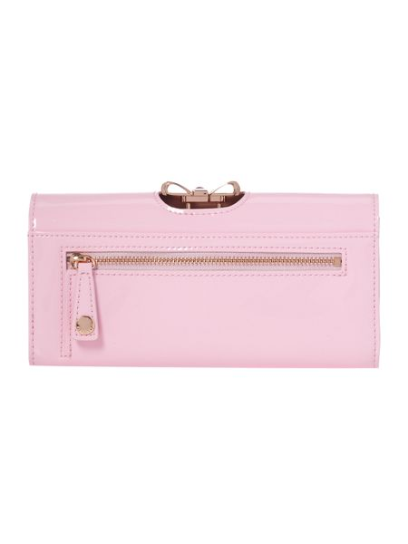 Ted Baker Pale pink large crystal bobble purse