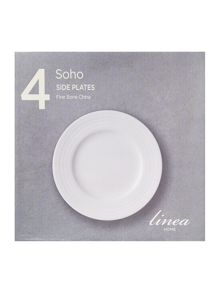 Linea Soho side plate set of 4