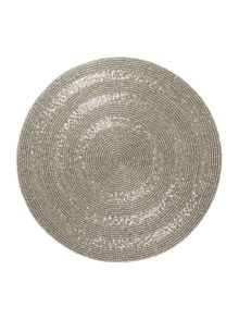 Silver halo placemats set of 2