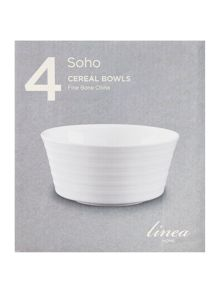 Soho cereal bowl set of 4
