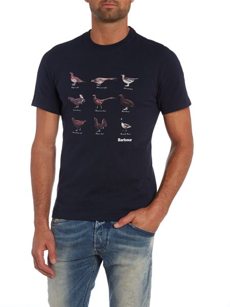 Barbour 100% Cotton Aves Tee